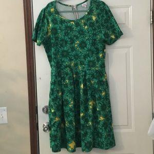Lularoe Amelia Plus Size Dress Size 3X